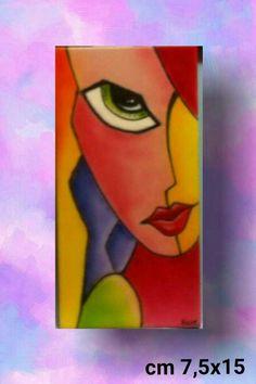 """Ragazza Stilizzata 1"" Vendita Online www.arte-frart.it"