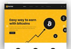 Best Cryptocurrency, Bitcoin Cryptocurrency, Simple Wordpress Themes, Bitcoin Company, Web Studio, Water Delivery, Wordpress Template, Web Banner, Website Template
