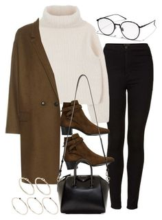 A fashion look from November 2016 by featuring Isabel Marant Topshop Yves Saint Laurent Givenchy Pieces and VALLEY Teen Winter Outfits, Winter Fashion Outfits, Look Fashion, Teen Fashion, Fall Outfits, Casual Outfits, Cute Outfits, Womens Fashion, Catwalk Fashion