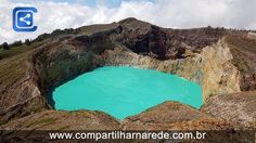 15 dos lagos de crateras mais belos do mundo… Sim, eles já foram vulcões!