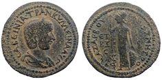 Ancient Coins - Cilicia, Anazarbus AE33. Tranquillina