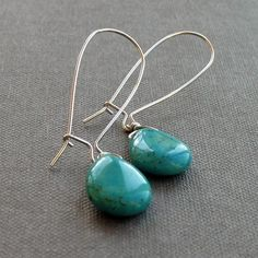 Continuing the turquoise obsession.