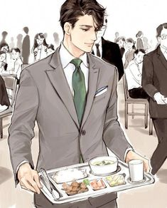 hand me some Hot Anime Boy, Cute Anime Guys, Anime Love, Manga Boy, Manga Anime, Anime Art, Boy Illustration, Illustrations, Handsome Anime Guys