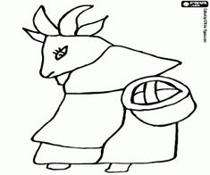 Coloring For Kids, Coloring Pages For Kids, Coloring Books, Online Drawing, Go Shopping, Goats, Marie, Wolf, Printable