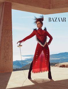 Emilia-Clarke-Harper's-Bazaar-Magazine-June-July-Issue-Editorial-Fashion-Alexander-McQueen-Proenza-Blumarine-Schouler-Tom-Lorenzo-Site-TLO (3)