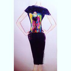 🎨🔜✔️#instafashion #instapic #artist #artwork #moda #newarpfashion…