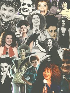 Patricia Quinn Collage ((Rocky Horror Shock Treatment)):