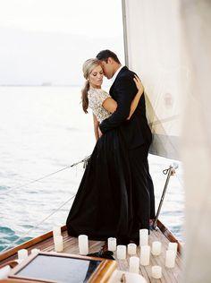 Miami Sailboat Film Engagement Photography