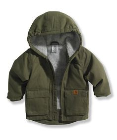 Ivy Green Jackson Jacket - Infant & Toddler #zulily #zulilyfinds