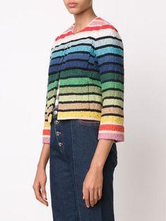 Sonia Rykiel rainbow cropped jacket