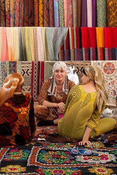 The heart of Bukhara, Uzbekistan by Miffy O, via Flickr