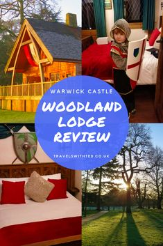 Knight's Village Warwick Castle - Travels With Ted Travel With Kids, Family Travel, European Travel, Travel Europe, Woodland Lodges, Warwick Castle, Travel Cot, All Themes, Family Days Out