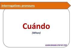 interrogative pronouns in spanish - 236×177