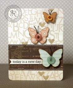 Jennifer Mcguire--love that studio calico #diy #crafts #cards www.BlueRainbowDesign.com