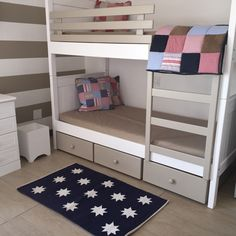 Navy star struck rug available in 3 sizes Perfect Bedroom, Bunk Beds, Furniture, Bunks, Bed, Home, Bedroom, Double Beds, Home Decor