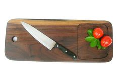 Relix Walnut 02 cutting board with collection bowl $50