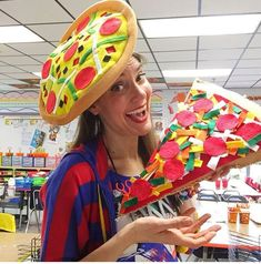 In the Art Room: Fourth Grade Pizza Pillows!