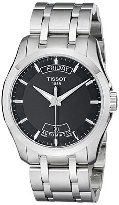 Men's Wrist Watches - Tissot Mens T0354071105100 Couturier DayDate Calendar Watch >>> You can get additional details at the image link.