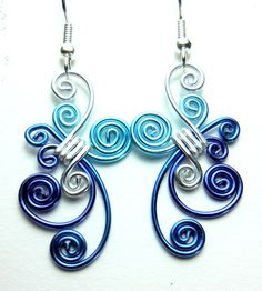 Dancing Dangle Hypo Allergenic Earrings by melissawoods on Etsy, $15.00