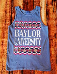 Baylor Tribe Tank - PERWINKL at Barefoot Campus