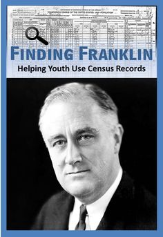 """Need a fun activity to help your youth learn to research census records?  """"Finding Franklin"""" gives them the opportunity to discover the wealth of information that can be found in  a census."""
