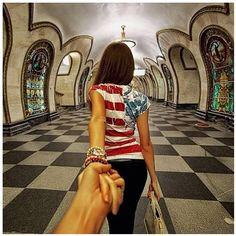 Follow Me Proposal - 20 Creative & Romantic Photos by Russian Photographer