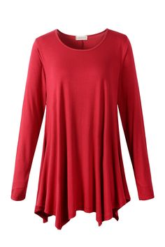 0e0f7e4a7127 larace winered long sleeve shirt tops Long Tunic Tops, Flowy Tops, Hide  Belly,