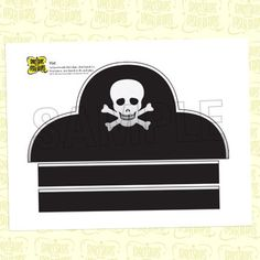 diy pirate hat template - 1000 images about pirate party on pinterest pirate