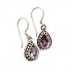 Fine Amethyst Earrings