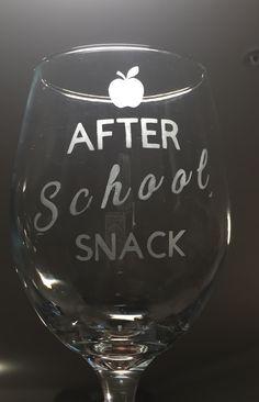 After school snack. After School Snacks, Etsy Store, Wine Glass, Tableware, Dinnerware, Tablewares, Dishes, Place Settings, Wine Bottles