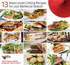 Whether you're planning on a zesty BBQ party, or simply fixing yourself something tasty, you'll love our 13 most-loved, hassle-free grilling recipes. Barbecue Recipes, Grilling Recipes, Bbq Party, Great Recipes, Main Dishes, Tasty, Beef, Seasons, Food