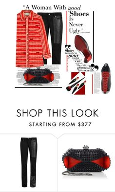 """""""good shoes"""" by emcf3548 ❤ liked on Polyvore featuring McQ by Alexander McQueen, Christian Louboutin and Gucci"""