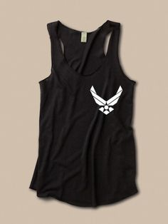 Air Force Tank.... I have got to get some cute military shirts!!