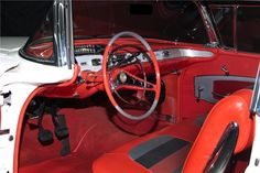 1958 CHEVROLET IMPALA CONVERTIBLE - Interior - 198797