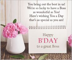 Happy birthday boss wishes messages quotes and images happy birthday quotes for your boss m4hsunfo