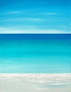 Beach Ocean Painting Modern Contemporary Beach Art Abstract Seascape Tropical Seascape Caribbean Beach Original Seascape. $99.00, via Etsy. Chris Maestri Fine Art