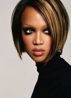 Hairstyles Short Bob Hairstyles For Black Women Feminine Short Bob Hairstyles 2015 2015 Hairstyles, Spring Hairstyles, Short Bob Hairstyles, Black Women Hairstyles, Trendy Hairstyles, Latest Haircuts, Trending Haircuts, Short Hair Trends, Short Hair Styles