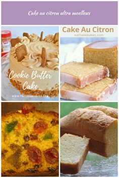 Cookie Butter Cake ~ tender, moist and full of lovely cookie butter flavor! Cookie Butter, Swiss Meringue, Cookies Et Biscuits, Cake, Cereal, Breakfast, Food, Lemon, Food And Drinks