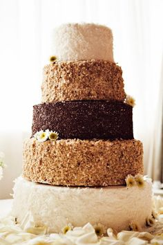 Some awesome wedding cake design ideas! Love these!