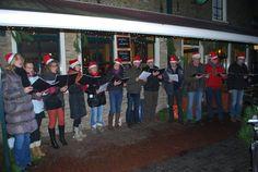 Optreden van het Kerstkoor op Vlieland