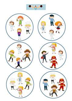 Numbers Preschool, Preschool Printables, English Activities, Book Activities, Kindergarten, Reading For Beginners, Crochet Square Patterns, Community Helpers, Idioms