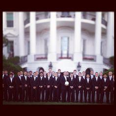 LA Galaxy at the White House.