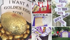 If you had a little kitchen scale . . . you could display it on the table with a mound of golden foil-wrapped eggs on it.  Can you get golden eggs year round outside of Willy's factory?