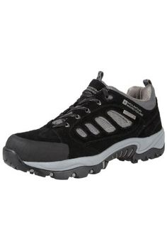 Mountain Warehouse Mens Lockton Waterproof Walking Hiking Shoes Black 14 M US Men -- Learn more by visiting the image link.
