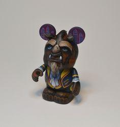 Beast JaredCircusbear Custom Vinylmation