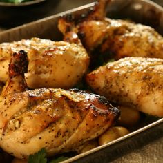 Try this Lush Lemon Pepper Chicken recipe by Chef Tom Kerridge. This recipe is from the show Tom Kerridge's Best Ever Dishes.
