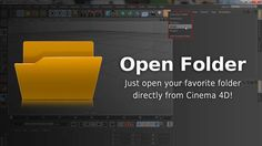 Cinema 4d script: Open Folder