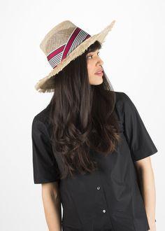 5edc11c15e4 Yestadt Millinery Deluxe Fringy Hat. Garmentory
