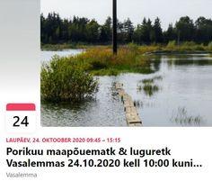Lubjakivimaa: Porikuu maapõuematk & luguretk Vasalemmas 24.10.2020