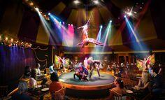 Cirque Dreams & Dinner Jungle Fantasy to take place in the Spiegel Tent on board Norwegian Breakaway.